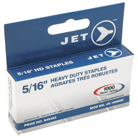 "Jet 849492 - (JS-1008HD) 5/16"" Staples (1000 Pcs) - Heavy Duty"