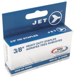 "Jet 849493 - (JS-1010HD) 3/8"" Staples (1000 Pcs) - Heavy Duty"
