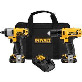 DeWALT DCK211S2 - 12V MAX* Cordless Li-Ion Drill/Driver / Impact Driver Combo Kit
