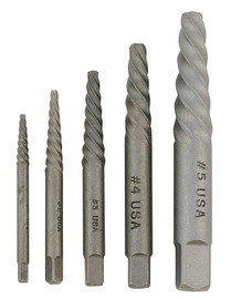 Jet H1365 - 5 PC Spiral Screw Extractor Set