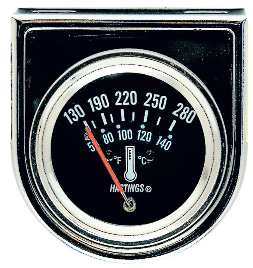 Jet HTA1118 - Chrome Series Mechanical Water Temperature Gauge Kit