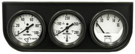 Easy-Read Triple Voltmeter, Water Temperature and Oil Pressure Gauge Kit