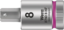 "Wera 05003038001 - 8740 B Hf Hex-Plus Sw 7,0 X 100 Mm Zyklop Bit Socket With 3/8"" Drive Holding Function"