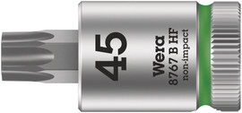 "Wera 05003065001 - 8767 B Hf Tx 27 X 107 Mm Zyklop Bit Socket With 3/8"" Drive Holding Function"