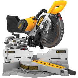 "DeWALT -  10"" (254mm) Double-Bevel Sliding Compound Miter Saw - DW717"