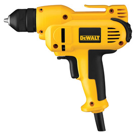 "DeWALT DWD115K - 3/8"" (10mm) VSR Mid-handle Drill Kit with Keyless Chuck"