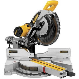 "DeWALT -  12"" Double Bevel Sliding Compound Miter Saw - DWS780"