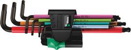 Wera 05022534001 - 950 Spkl/7 B Sm Multicolour Magnet Hex Key Set Long Arm Hex Key Set