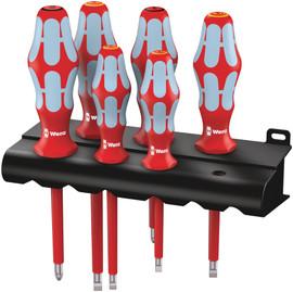 Wera 05022745001 - 3160I/3165I/6 Vde-Insulated Screwdriver Set