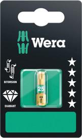 Wera 05134374001 - 867/1 Bdc Tx 10 X 25 Mm Sb Torx Bits, Bitorsion