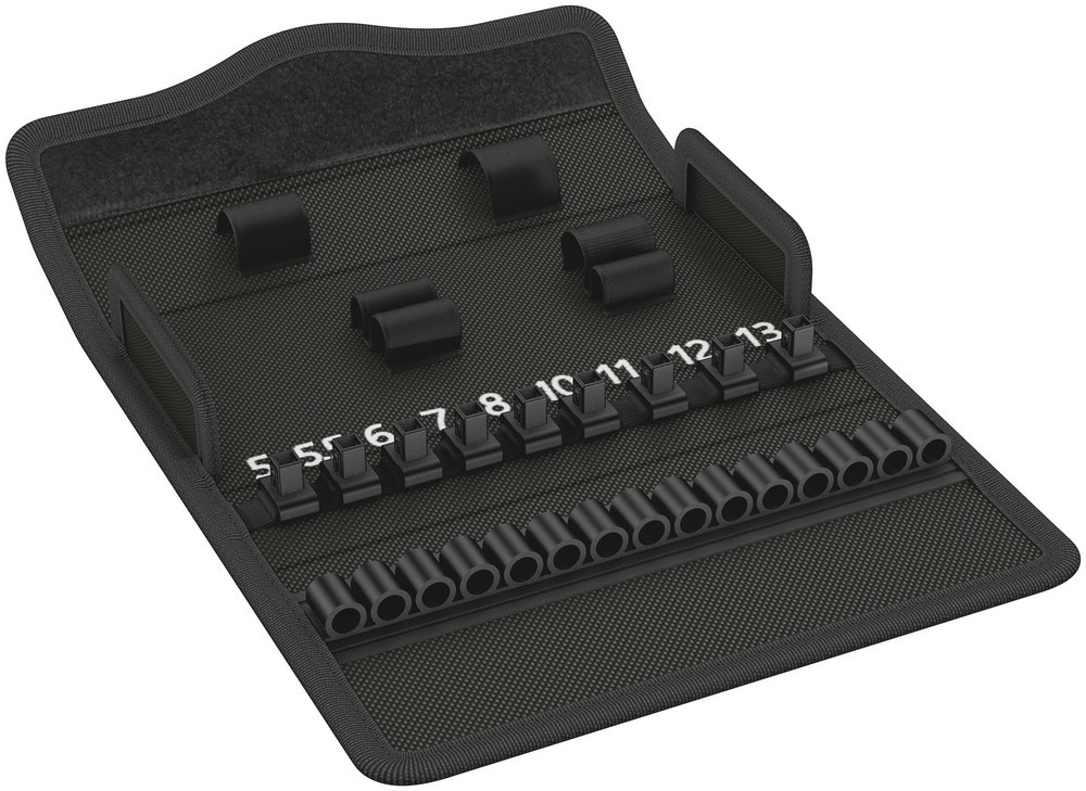 Empty Wera Kraftform Kompakt Zyklop Mini 2/05136466001/Textile Box