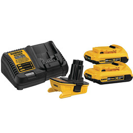 DeWALT DCA2203C - 20V MAX TO 18V ADAPTOR KIT W/ 2 DCB203 (2.0AH) AND CHARGER