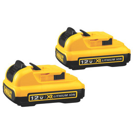 DeWALT DCB127-2 - 12V MAX LITHIUM ION BATTERY 2.0AH (2-PACK)