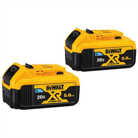 DeWALT DCB205BT-2 - 20V MAX LI-ION TOOL CONNECT BATTERY 2-PACK (5.0 AH)