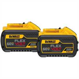 DeWALT DCB609-2 - 20V/60V MAX FLEXVOLT BATTERY (9AH) 2 PACK
