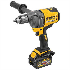 "DeWALT DCD130T1 - 60V MAX FLEXVOLT 1/2"" MIXER/DRILL KIT W/ 1 BATTERY (6AH), CHARGER AND BAG"