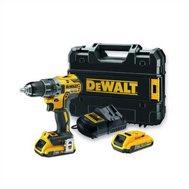 "DeWALT DCD791D2 - 20V MAX XR COMPACT 1/2"" DRILL/DRIVER (2.0AH) W/ 2 BATTERIES AND KIT BOX"