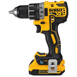 "DeWALT DCD792D2 - 20V MAX XR COMPACT TOOL CONNECT 1/2"" DRILL/DRIVER (2.0AH) W/ 2 BATTERIES AND KIT BOX"