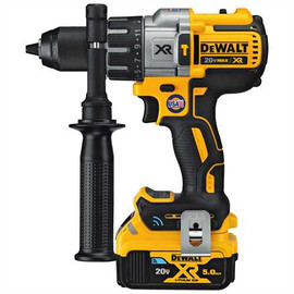 "DeWALT DCD997P2BT - 20V MAX XR PREMIUM TOOL CONNECT 1/2"" HAMMERDRILL/DRIVER (5.0AH) W/ 2 TOOL CONNECT BATTERIES AND KIT BOX"