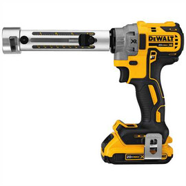 DeWALT DCE151TD1 - 20V MAX XR CABLE STRIPPER KIT (2.0AH) W/ 1 BATTERY, BUSHINGS DCE1513 - DCE15122 AND KIT BOX