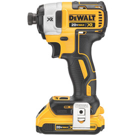 "DeWALT DCF887D2 - 20V MAX LI-ION XR 3 SPEED 1/4"" IMPACT DRIVER (2.0AH) W/ 2 BATTERIES AND KIT BOX"