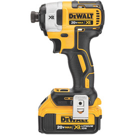 "DeWALT DCF887M2 - 20V MAX LI-ION XR 3 SPEED 1/4"" IMPACT DRIVER (4.0AH) W/ 2 BATTERIES AND KIT BOX"