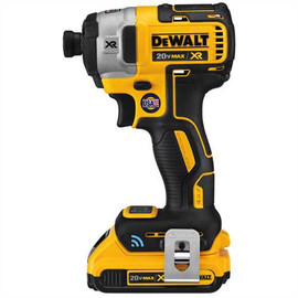 "DeWALT DCF888D2 - 20V MAX XR TOOL CONNECT 1/4"" IMPACT DRIVER (2.0AH) W/ 2 BATTERIES AND KIT BOX"