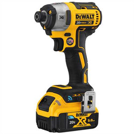 "DeWALT DCF888P2BT - 20V MAX XR TOOL CONNECT 1/4"" IMPACT DRIVER (5.0AH) W/ 2 TOOL CONNECT BATTERIES AND KIT BOX"