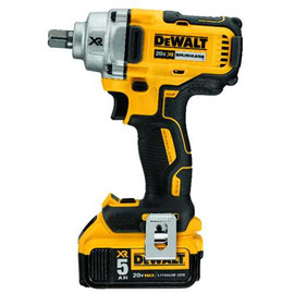 "DeWALT DCF894P2 - 20V MAX XR 1/2"" MID TORQUE IMPACT WRENCH (DETENT PIN) (5.0AH) W/ 2 BATTERIES AND BAG"