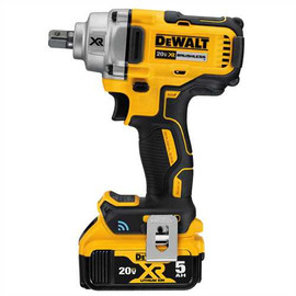 "DeWALT DCF896P2 - 20V MAX XR TOOL CONNECT 1/2"" MID TORQUE IMPACT WRENCH (DETENT PIN) (5.0AH) W/ 2 BATTERIES AND BAG"