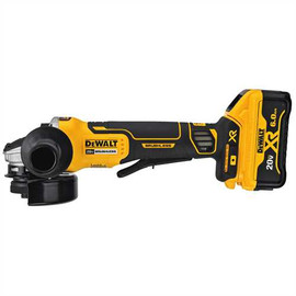 "DeWALT DCG413R2 - 20V MAX XR 4-1/2"" GRINDER W/ BRAKE (6.0AH) W/ 2 BATTERIES AND BAG"