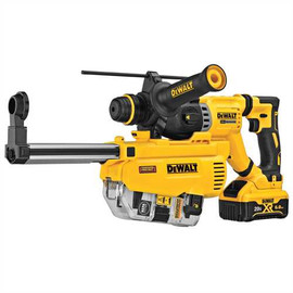 DeWALT DCH263R2DH - 20V MAX XR D-HANDLE 3 MODE SDS ROTARY HAMMER (6.0AH) W/ 2 BATTERIES, DUST EXTRACTOR AND KIT BOX