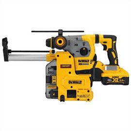 DeWALT DCH293R2DH - 20V MAX XR 3 MODE SDS ROTARY HAMMER (6.0AH) W/ 2 BATTERIES, DUST EXTRACTOR AND KIT BOX