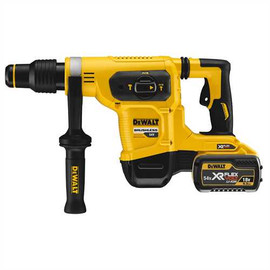"DeWALT DCH481X2 - 60V MAX FLEXVOLT 1-9/16"" SDS MAX ROTARY HAMMER W/ 2 BATTERIES (9AH), CHARGER AND KIT BOX"