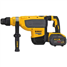 "DeWALT DCH733X2 - 60V MAX FLEXVOLT 1-7/8"" SDS MAX ROTARY HAMMER W/ 2 BATTERIES (9AH), CHARGER AND KIT BOX"