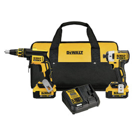 DeWALT DCK267M2 - 20V MAX 2 TOOL (DCF620 & DCF887) W/ 2 BATTERIES (4.0AH) AND BAG