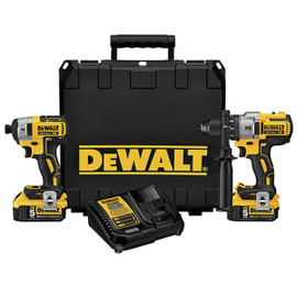 DeWALT DCK299P2 - 20V MAX XR 2 TOOL (DCD996 & DCF887) W/ 2 BATTERIES (5.0AH) AND KIT BOX