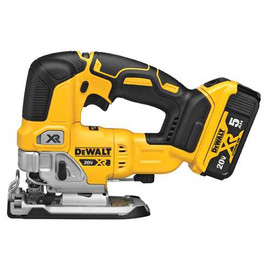 DeWALT DCS334P1 - 20V MAX XR JIG SAW (5.0AH) W/ 1 BATTERY AND KIT BOX