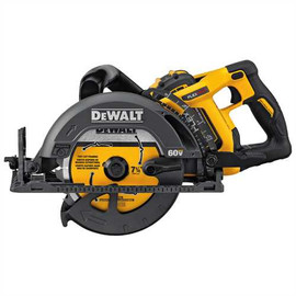 "DeWALT DCS577X1 - 60V MAX FLEXVOLT 7-1/4"" WORM DRIVE STYLE SAW KIT W/ 1 BATTERY (9AH), CHARGER AND BAG"