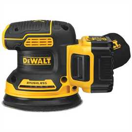 "DeWALT DCW210P1 - 20V MAX XR 5"" VS ROS WITH HOOK & LOOP PAD AND DUST COLLECTION (5.0AH) W/ 1 BATTERY AND BAG"