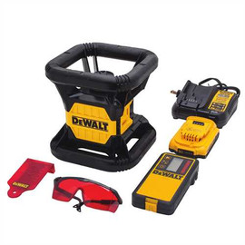 DeWALT DW074LR - 20V OPP RED TOUGH ROTARY LASER