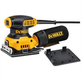 DeWALT DWE6411K - 1/4 SHEET PALM GRIP SANDER WITH DUST COLLECTION W/ BAG