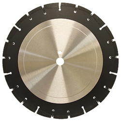 Pearl LW2412APM - 24 X .125 X 1 Professional Wet Seg. Asphalt Blade, Medium Bond
