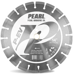 Pearl PEV1412XL - 14 X .125 X 1, 20MM Pev Concrete And Masonry Segmented Blade, 12.5MM Rim