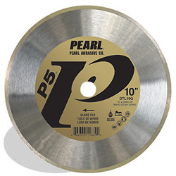 Pearl DTL07G - 7 X .048 X 5/8 P5 Glass Tile Blade, 7MM Rim