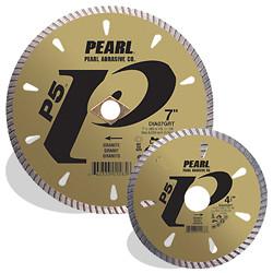 Pearl DIA06GR4 - 6 X .080 X 20MM, 4H P5 Tile & Stone Blade, 8MM Rim 8MM Dia,
