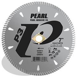 Pearl DIA07GRTE - 7 X .090 X 7/8, Dia, 5/8 P3 Tile & Stone Blade, 8MM Rim