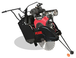 """Pearl PA2020HSP - 20"""" Gas Powered Self-Propelled Concrete Saw With Honda Gx620 V-Twin Engine"""