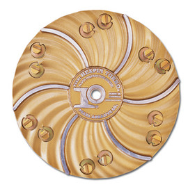 "Pearl HEX1706SGCLT - 15"" Hexpin® Hexplates With Superclutch Scrap N Grind Hexplate 6 Pads"