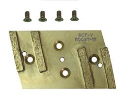 Pearl HEX4PAD - Diamond Pad, 4 Segments Includes 4 Screws